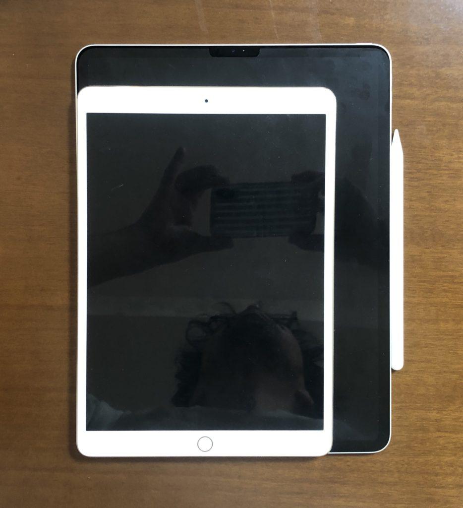 iPad Pro2020 12.9インチの画面がでかい