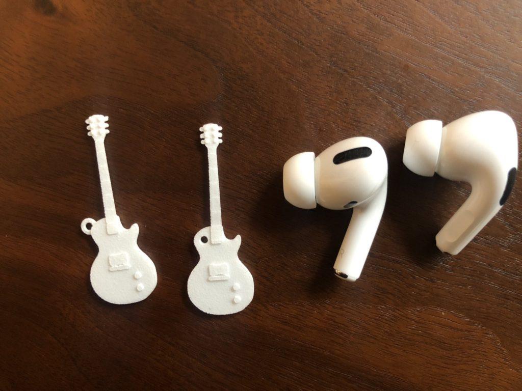 iPadだけで作製したギターミニチュア