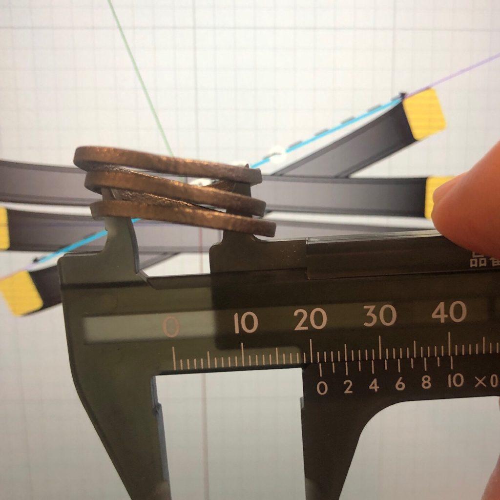 3Dプリント チタン指輪 本体内径