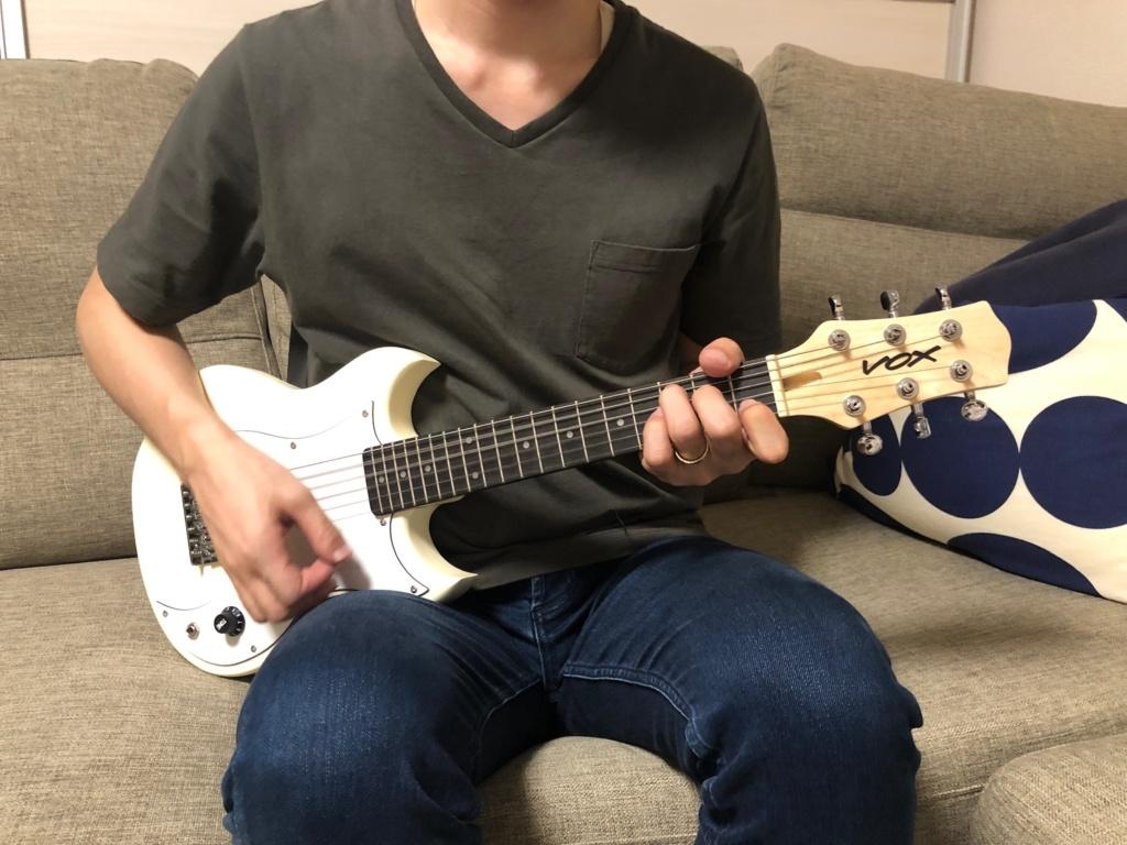 ミニエレキギターSDC-1 miniレビュー 大きさ