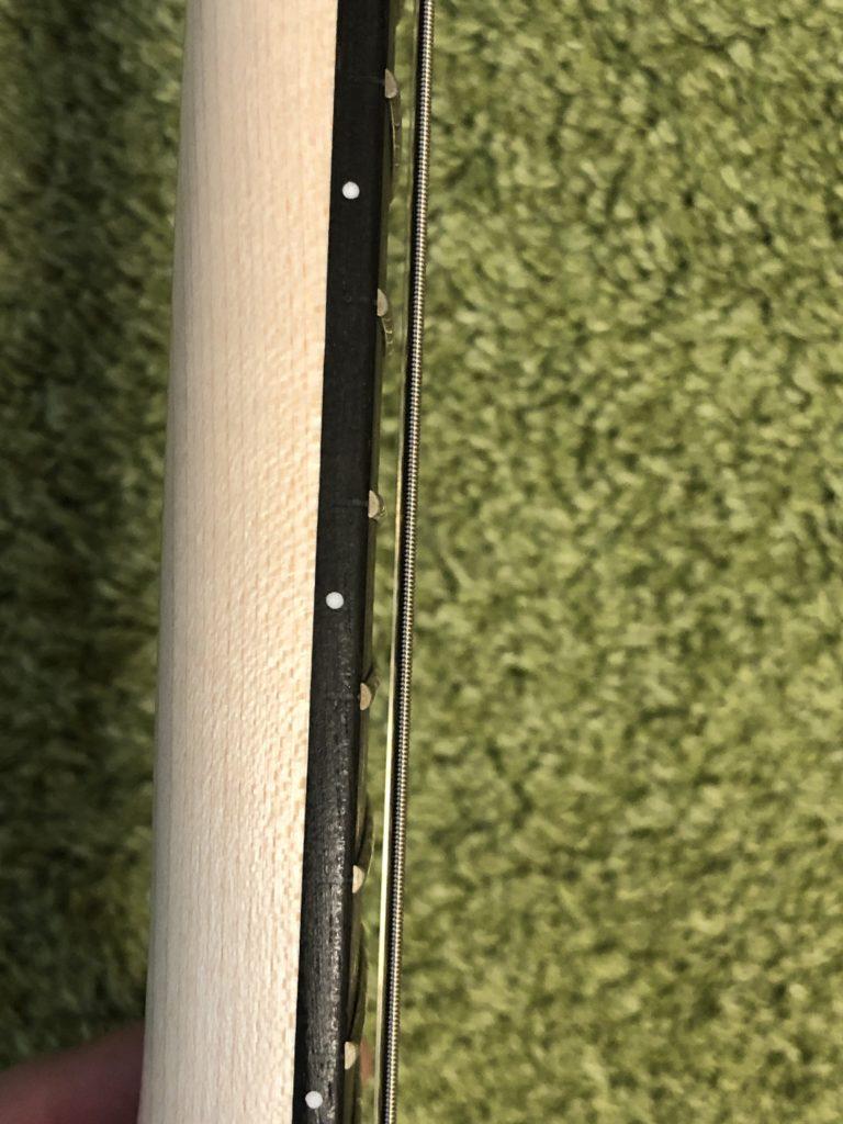ミニギター VOX SDC-1 mini 5フレット付近の弦高