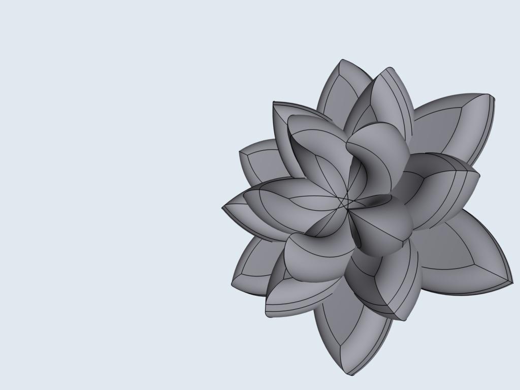 Shapr3Dの使い方 蓮