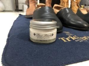 トリッカーズの靴をメンテナンス クリーム ニュートラル