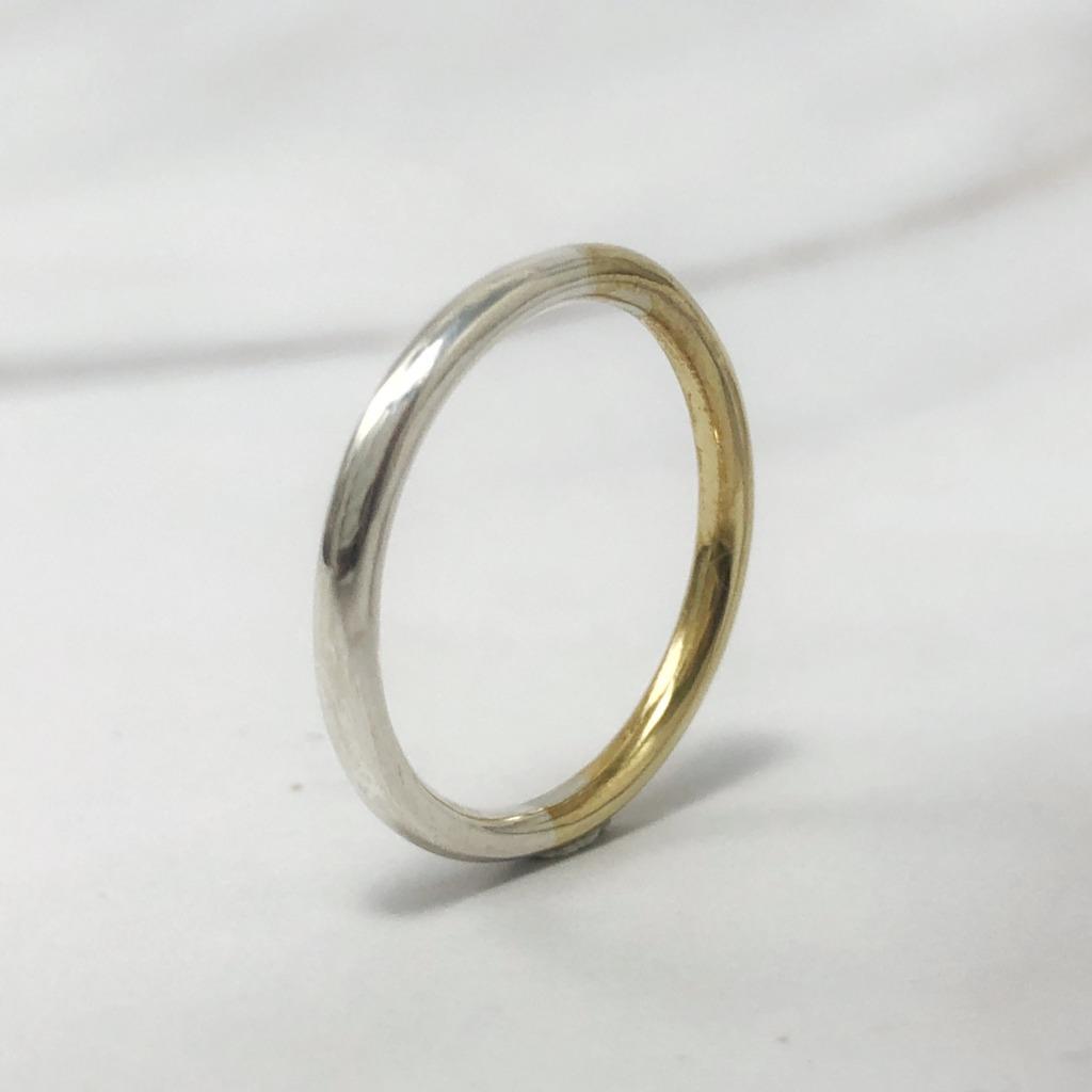 サラリーマンが独学で指輪作りに挑戦 作品写真1